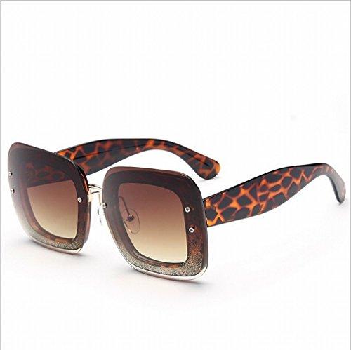 XW Box Sonnenbrille Weiblichen Farbe Spiegel Spiegel Reflektierende Spiegel Sonnenbrille Stra?e Schuss Augenbrille,B,Konventionell Oakley Frogskins Klar