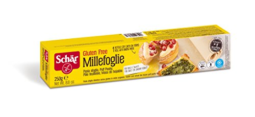 SCHÄR - Pâte feuilletée à dérouler / Sans gluten - 250 g - Surgelé
