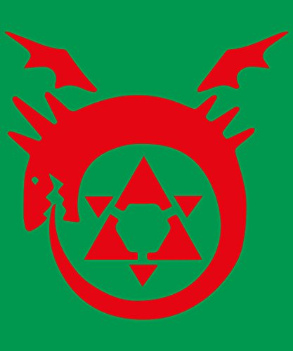 -- Ouroboros -- Boys T-Shirt Kelly Green