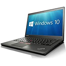 """Lenovo 14"""" ThinkPad T450s Ultrabook - HDF+ (1600x900) Core i5-5300U, 8 Go de RAM, Disque SSD 512 Go, Webcam, WiFi, Bluetooth, USB 3.0, Windows 10 Pro (Clavier AZERTY Français) (Reconditionné)"""