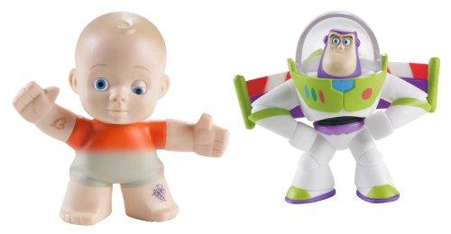 (Toy Story Farbige Plantsch Kumpels 2 Pack - Buzz Lightyear und Big Baby [UK Import])