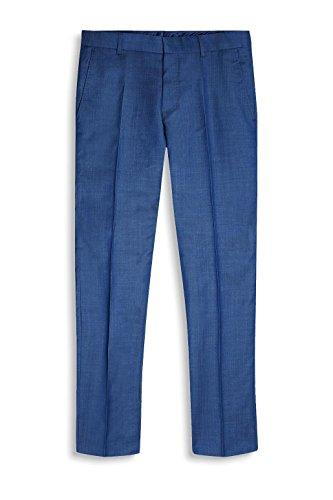 ESPRIT Collection Herren Anzughose 047eo2b002 Blau (Blue 430)