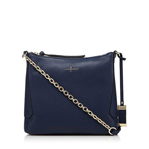j-by-jasper-conran-navy-leather-cross-body-bag