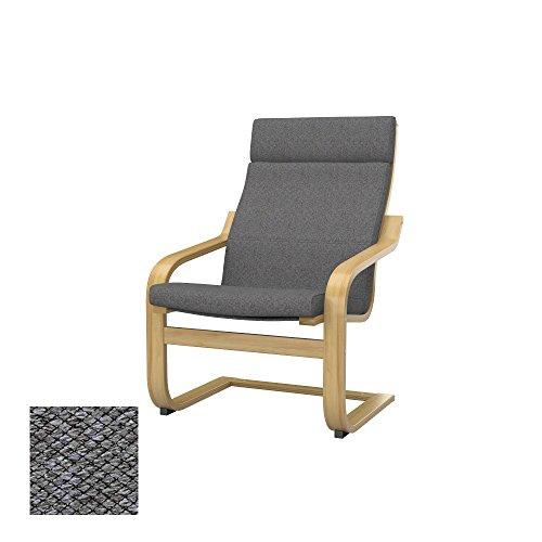 Poltrona Relax Pelle Ikea.Soferia Ikea Poang Funda Para Sillon Nordic Grey