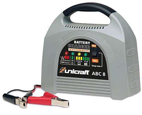 Stürmer Unicraft 6850200 Batterieladegerät ABC 8 (Batterieerhaltungsgerät; für Wet-, Gel- und AGM Batterien, 12V)