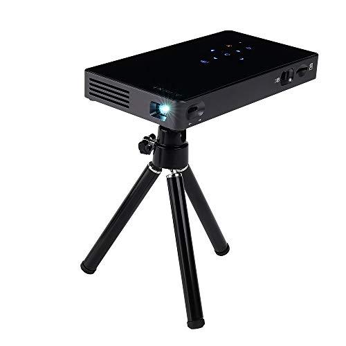 JXJ Proiettore, Stessa Proiezione dello Schermo, Mini Proiettore Micro Dlp Intelligente, Risoluzione 1280p, Supporto USB, Dimensioni dello Schermo di Trasferimento Fino A 120 Pollici