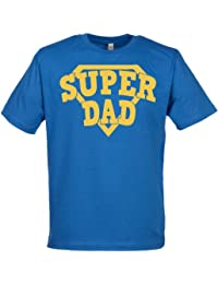 SR - SuperDad Tee Shirt Organic Mens T Shirt - Daddy T Shirt