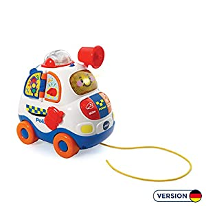 VTech 80-501404 Multicolor Juguete de Arrastre - Juguetes de Arrastre (Multicolor, 0,7 Mes(es), 3 Mes(es), Niño/niña, 4 Rueda(s), AA)