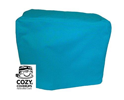 cozycoverup® Futter/Ständer Mixer Staub Bezug in Uni Farben (Türkis Blau, Bosch Küchenmaschine MUM5) - Türkis Küchenmaschine
