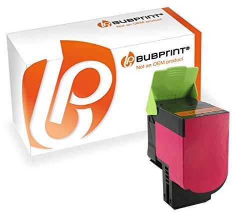 Bubprint Toner kompatibel zu Lexmark CS410 magenta für CS310N CS310DN CS410N CS410DN CS410DTN CS510DE CS510DTE