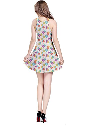 CowCow -  Vestito  - Donna Colorful Christmas