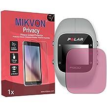 Lámina de protección Mikvon Privacy rosa contra miradas laterales para Polar A300 - PREMIUM QUALITY
