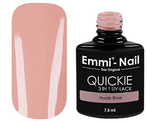 Emmi-Nail UV-Nagellack in glänzendem Nude-Rosa, ohne Schwitzschicht, kein Unter- und Überlack...