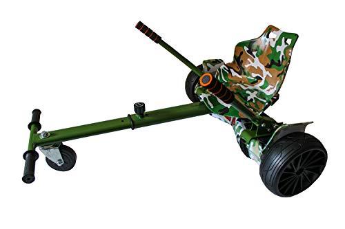 Gift Gadgets Graffiti Camo Green Army Hoverkart Go Kart Balancing Board für 16,5/20,3/25,4 cm
