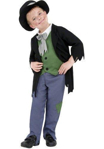 Jungen Artful Dodger Arme Viktorianisch gassenkind Oliver Twist Taschendieb TV Film büchertag Charakter Maskenkostüm Ausrüster - Mehrfarbig, 4-6 (Twist Artful Kostüm Dodger Oliver)
