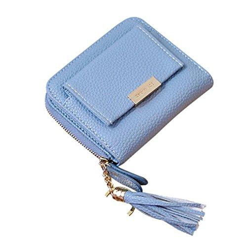 Portafoglio Donna, Tpulling Borsa della borsa della borsa della borsa della borsa della borsa della borsa della borsa del raccoglitore delle piccole donne (D) E