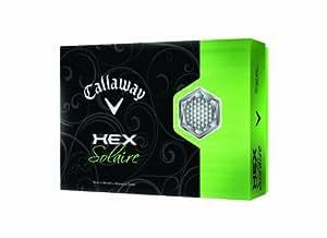 Callaway Women's Hex Solaire Golf Balls - White, 1.683 Inch