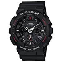 Casio G-Shock Watch For Men Ana-Digi Dial Resin Band - GA-120-1AHDR