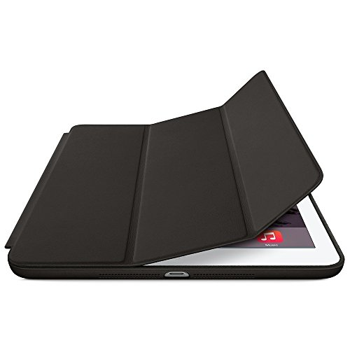 Leather Smart Case Flip Cover for Ipad Air 2 - Black