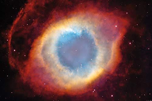 1art1 118964 Der Weltraum - Der Helixnebel, Das Auge Gottes XXL Poster 120 x 80 cm