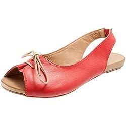 Sandalias para Mujer Pescado Boca Zapato de Playa Blandas Romanas Casual Zapatos Uniforme Calzado de Trabajo Verano 2019