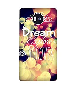 Dream On 2 Microsoft Lumia 950 XL Case