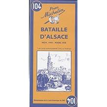 Carte historique : Bataille d'Alsace, N° 104