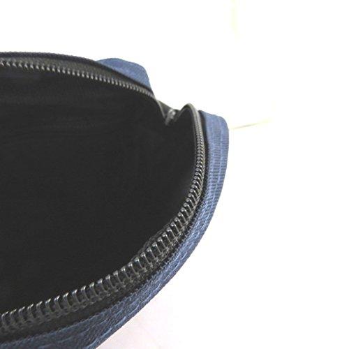 Bolso de la bolsa enrico benetti marino - 21.5x18.5x4.5 cm.