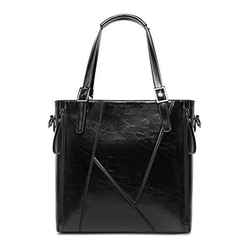 Chlln Mode - Handtasche Umhängetasche Leder Mit Pendler - Mode - Handtasche Umhängetasche Handtasche Black
