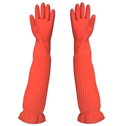 guanti di gomma JEANS DREAM Guanti di Pulizia in Gomma Antiscivolo Protezione Antinfortunistica da Lavoro per Il Lavaggio Multifunzione