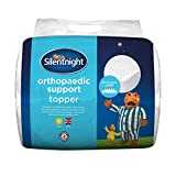 Silentnight Orthopaedic Topper with Removable Cover, White, Single, 5 cm