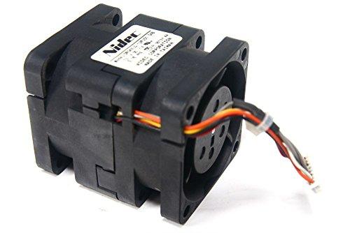 Nidec Corporation DR04XLG-12PUS1 40x40x50mm Server Fan Gehäuse-Lüfter 12V 0.76A (Generalüberholt)