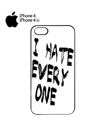 I Hate Every One X ASAP Fresh Mobile Cell Phone Case Cover iPhone 5c Black Noir