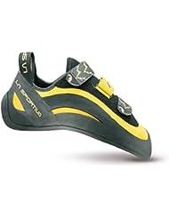 La Sportiva Miura VS - Pies de gato para hombre, color amarillo / negro, talla 34