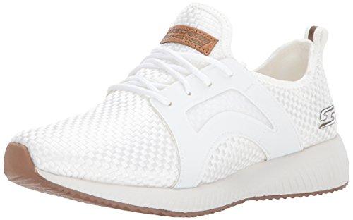 Skechers Damen Bobs Sport-Insta Cool Sneaker, Weiß (White), 41 EU (Skechers Sneakers Leichte)
