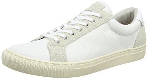 Hackett Cranfield, Zapatillas de Entrenamiento Para Hombre, Blanco (White), 42 EU