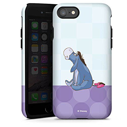 Apple iPhone X Silikon Hülle Case Schutzhülle Disney Winnie Puuh Eeyore Fanartikel Merchandise Tough Case glänzend