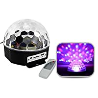 Remote Controlled Disco Light & Speaker with USB & SD Card Slot