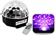 Remote Controlled Disco Light & Speaker with USB & SD C
