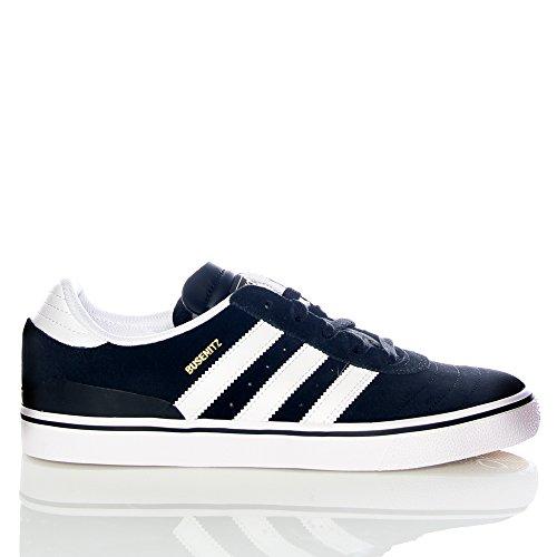 Adidas Busenitz Vulc, Zapatillas de Skateboard para Hombre, Negro (Black/Running White Footwear/Black 0), 46 EU