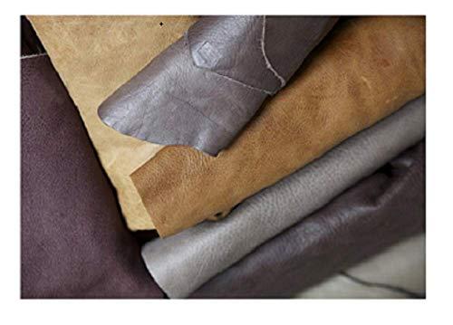 LuxuryLeather3 Schöne große Kratzer, Leder, italienisch, Größe A1