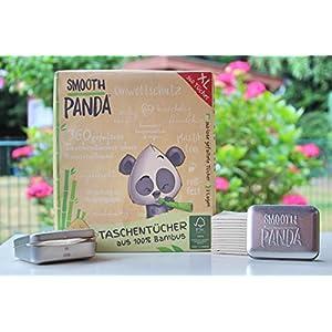 Smooth Panda – Taschentücher aus Bambus 3 Lagen 360 Stück
