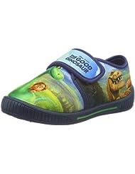 Arlo & Spot Boys Kids Velcro Low Houseshoes - Zapatilla de estar por casa Niños