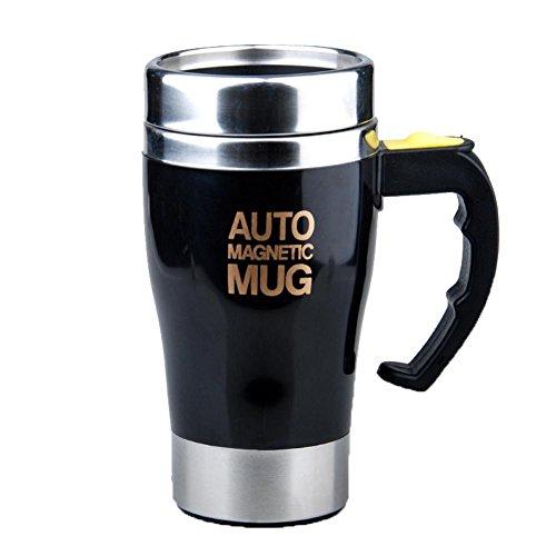 QLL Botella de Agua 450 ML portátil Lazy automático Auto agitación Taza de Mezcla té Taza de café...
