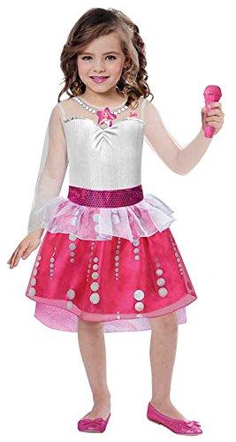 joker 9900108-S - Costume Barbie S, Multicolore