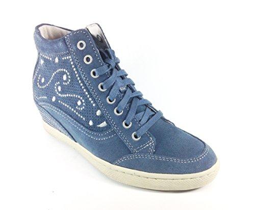Trivict , Chaussures de ville à lacets pour femme Bleu Blu Bleu - Blu