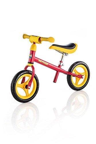Preisvergleich Produktbild Kettler Laufrad Speedy 2.0 – das verstellbare Lauflernrad – Kinderlaufrad mit Reifengröße: 10 Zoll – stabiles & sicheres Laufrad ab 2 Jahren – rot & gelb