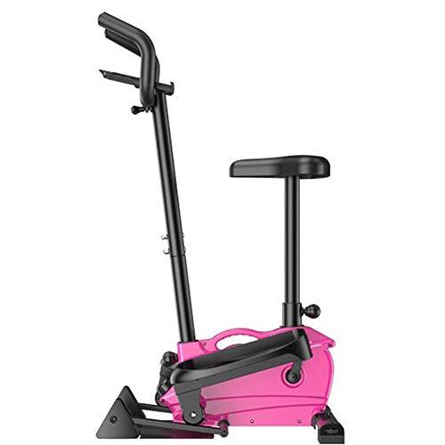Fitness-Treppenstufen-Stepper Mit WiderstandsbäNdern Und LCD-Monitor Stepper Mit Lenker Und Einstellbarem Widerstand Klein Und Kompakt