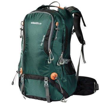 Outdoor-Rucksack Tasche Rucksack wasserdicht Reisen Wanderrucksack Classic black