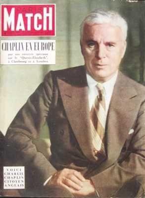 PARIS MATCH [No 185] du 27/09/1952 - CHARLIE CHAPL...